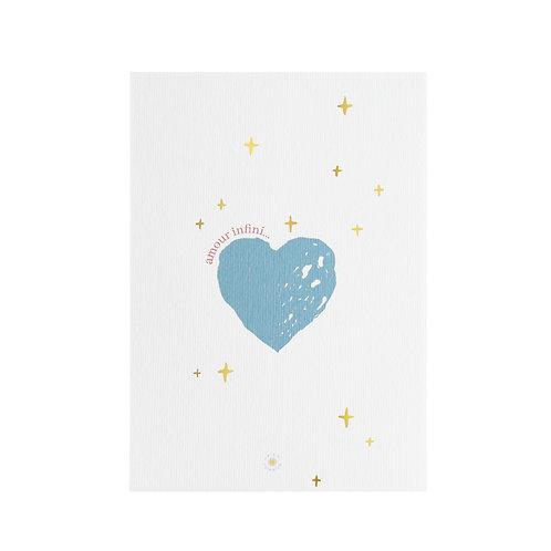 """Carte """"Amour infini"""""""
