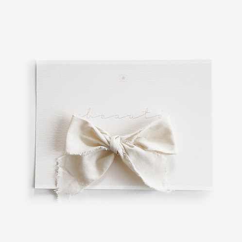 """Carte """"beauté"""""""