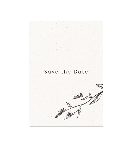 "Save the date ""Nature"""