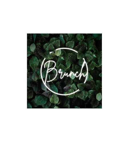 """Carte brunch """"Néon"""""""