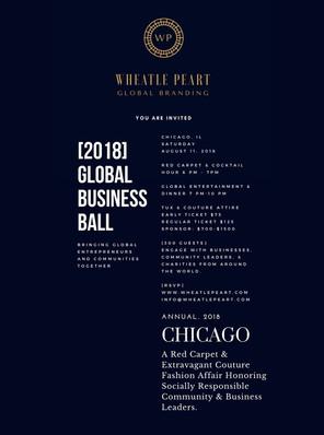 Wheatle Peart 2018 Global Business Ball