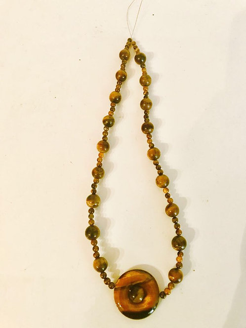 Fashionable Women Necklace - Brown