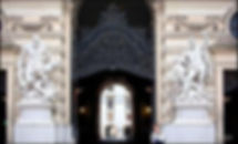 Entrada a la Hofburg desde la plaza de san Miguel