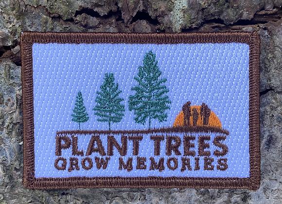 Plant Trees Grow Memories Patch