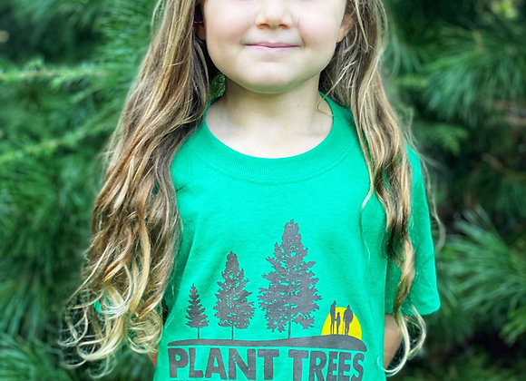 Youth Plant Trees Grow Memories T-Shirt