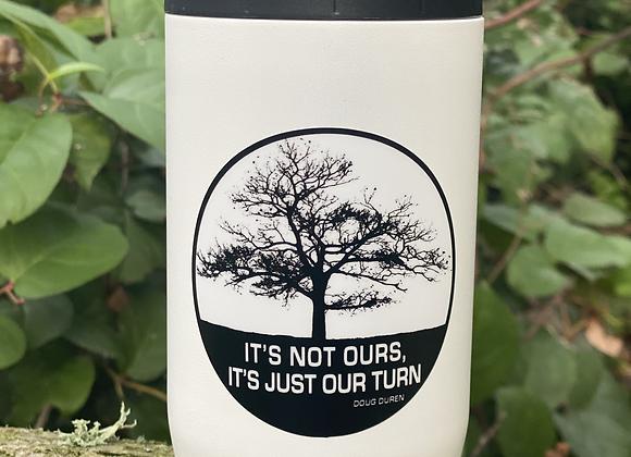 Lone Oak Round Sticker