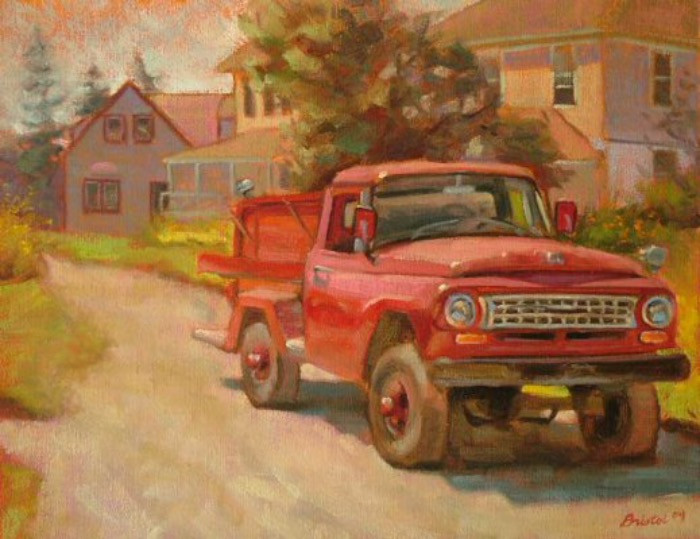 Monhegan Fire Truck