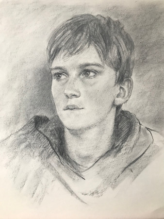 Sketch of Young Man