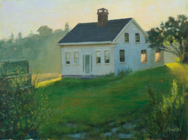 Chadwick House Sunrise