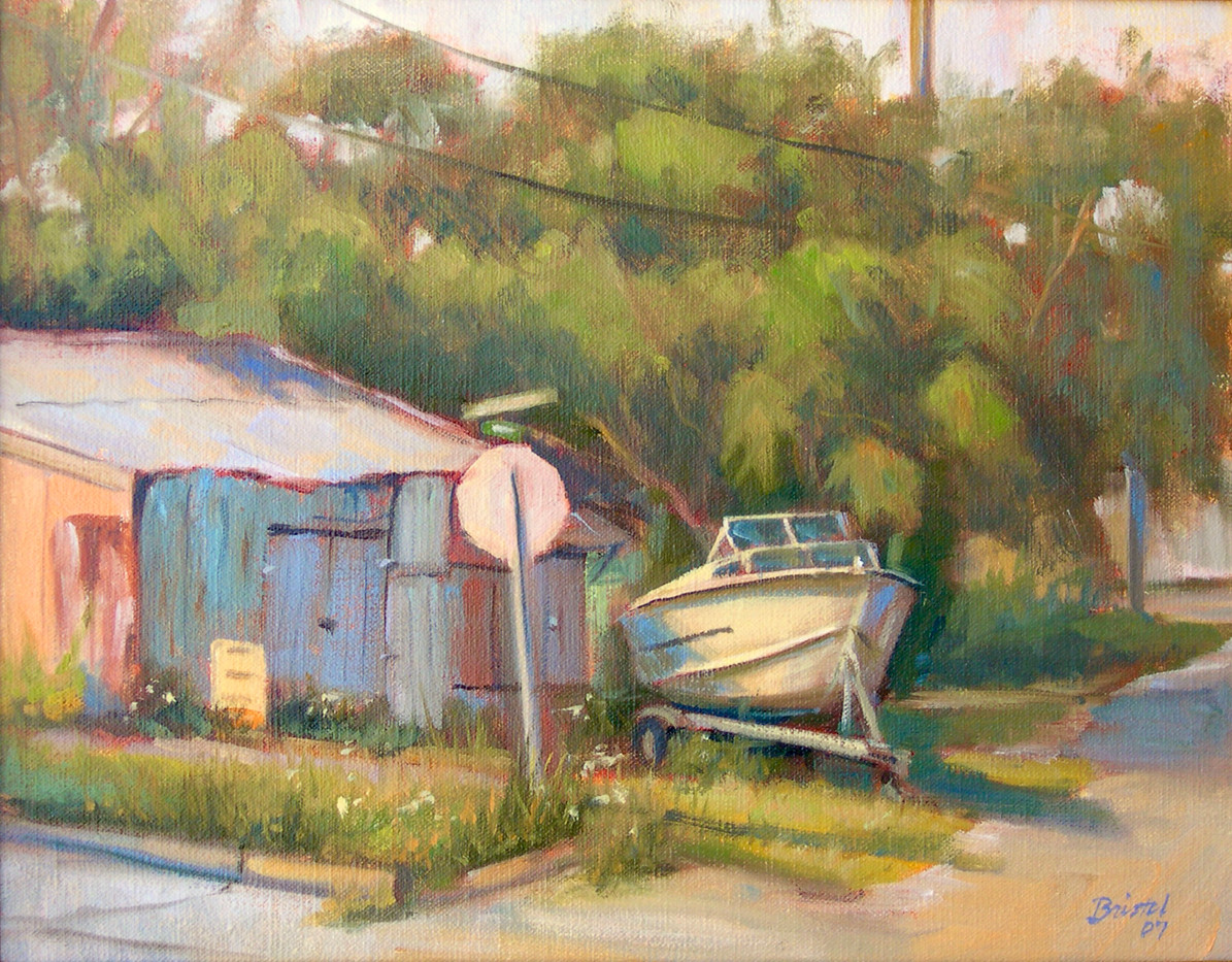 Boat and Shack, Apalachicola.jpg