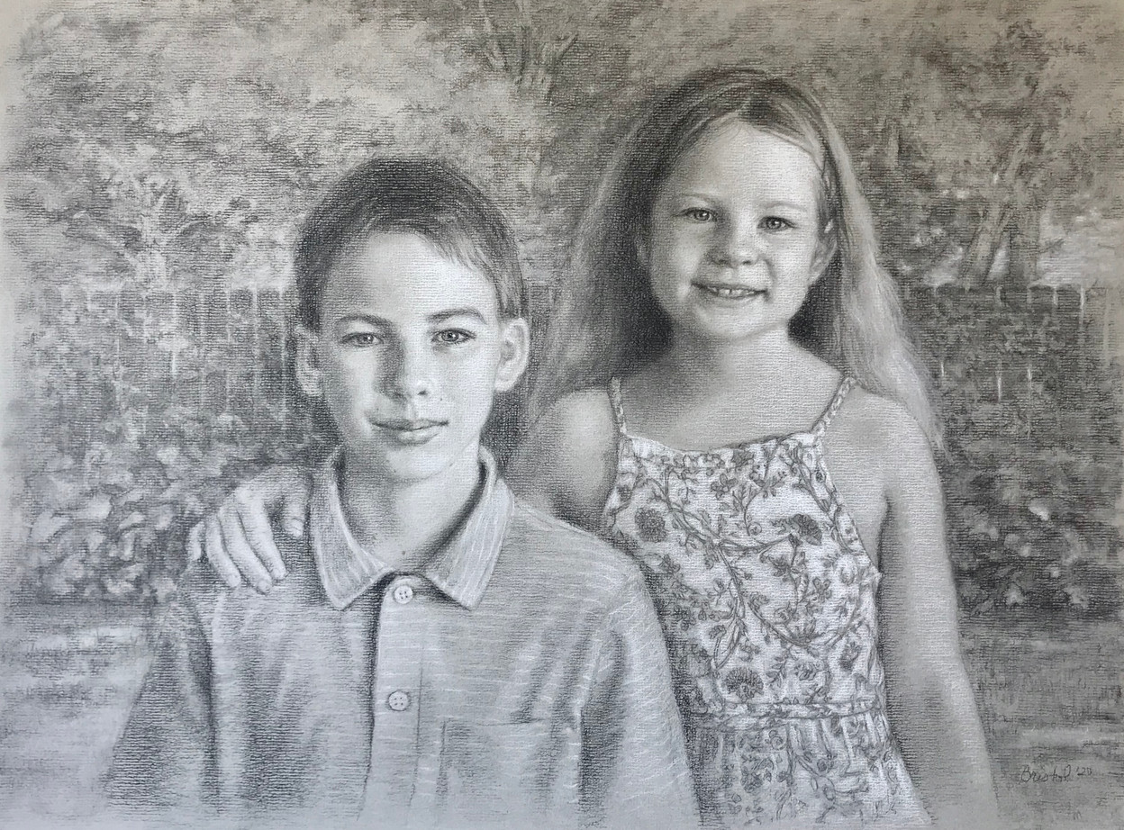 Portrait of Adeline and Grady