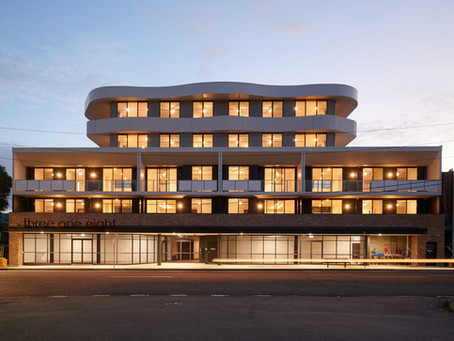 Eve Apartments reaches completion in Mayfield NSW