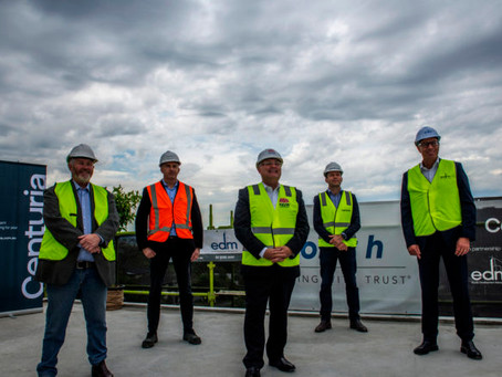 Milestone passed for West Gosford social housing project