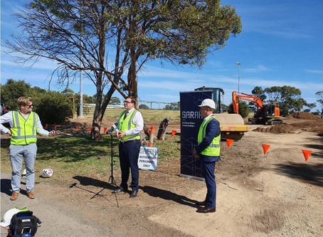 Construction begins on first of three new SA schools