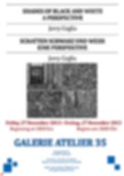 Jerry Ceglia - Arty Friday - Kunstfreitag - Shades of Black & White Exhibition