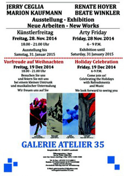 Arty Friday - November 2014 - Holiday Celebration
