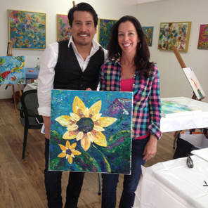 Joan Louis, Artist & Suzanne Villella, Artist