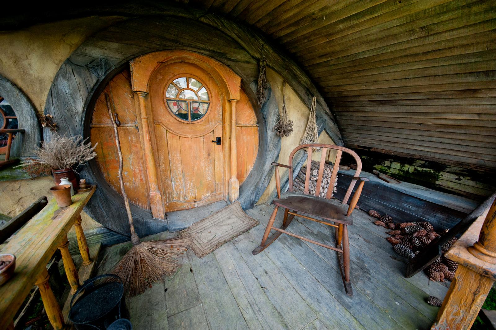 Inside a Hobbit Home