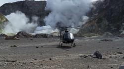 White Island volcano Helicocopter