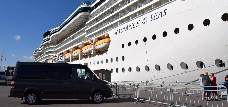 cruise passengers in Tauranga