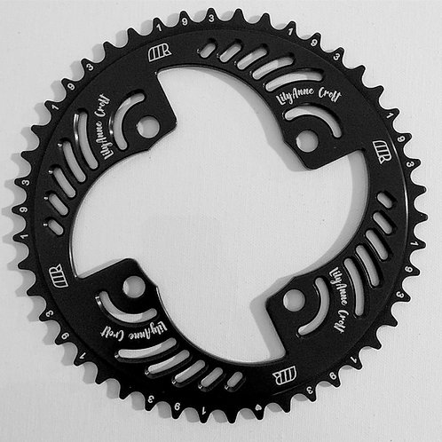 Custom One Seven Chainrings 4 Bolt 104 BCD / 5 Bolt 110 BCD