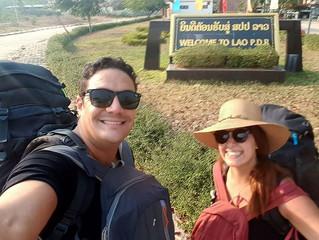 Passage de la frontière terrestre Cambodge - Laos en van