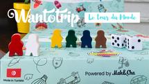 Ce nouveau jeu de société 100% Tunisien vous fera Voyager à partir de chez vous