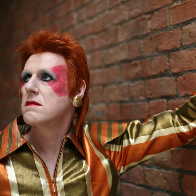 David Bowie Tribute Wig