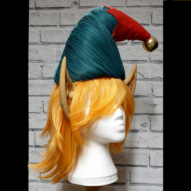 Elf Acrylic Wig and Acrylic Hair Hat