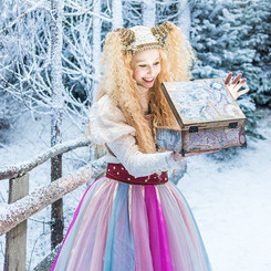 Character wig for Lapland UK