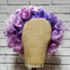 Lace Front Acrylic Wig