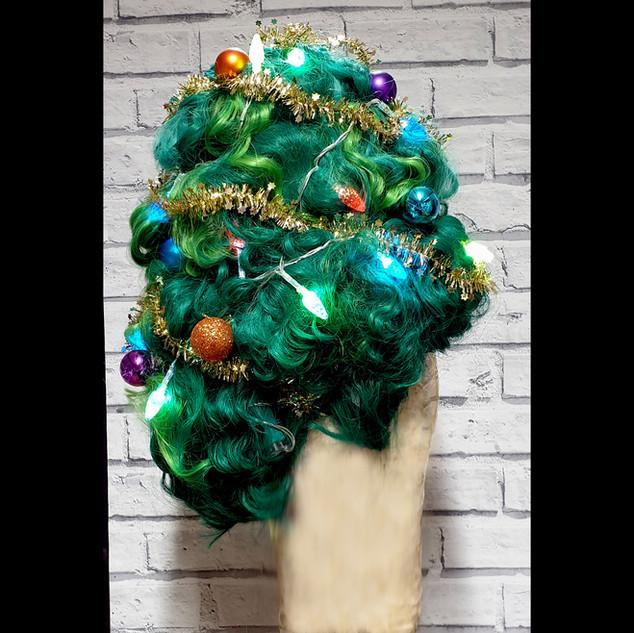 Christmas Tree Acrylic Wig