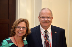 Steve Russell and Heather Carlton