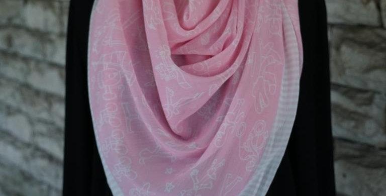 Sporty scarf