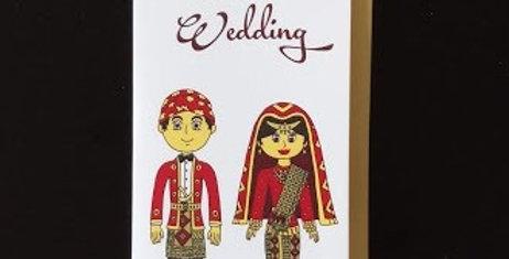 Happy Wedding-West Sumatera Costume