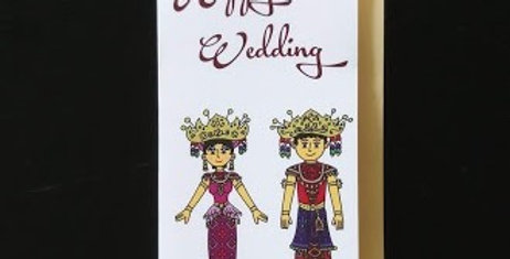Happy Wedding-Palembang Costume