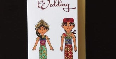 Happy Wedding-Balinese Costume