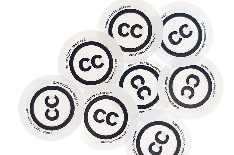 Creative Commons Stickers