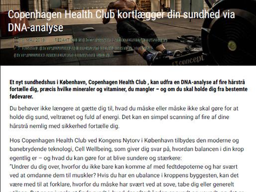 CLASICO: Copenhagen Health Club kortlægger din sundhed via DNA-analyse