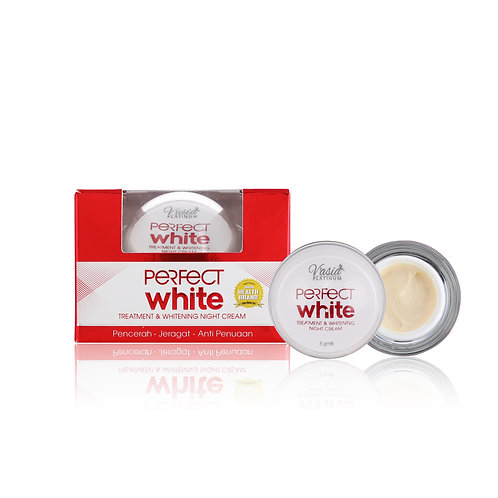 PERFECT WHITE - Treatment & Whitening Night Cream