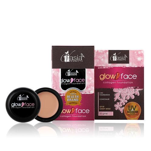 GLOW FACE - GF 02 Sandy Beige