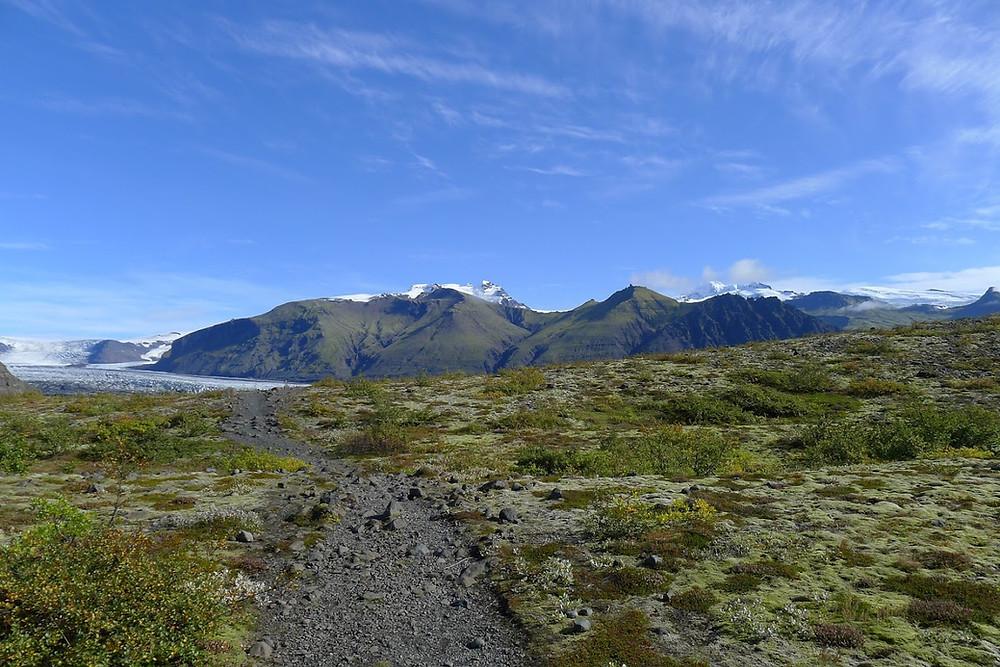 Skaftafellsjökull at the Vatnajökull National Park