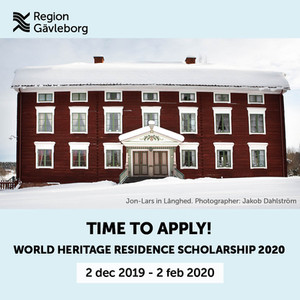 World Heritage Scholarship 2020 - open for application