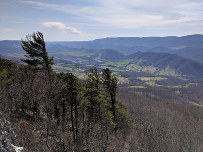 North Fork Mountain and a story of defeat