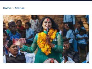 """PeaceCorps.Gov featured story:""""Peace Corps' Influence Changed My Fate"""""""