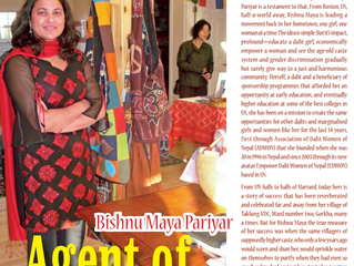 Agent of Change: Bishnu Maya Pariyar