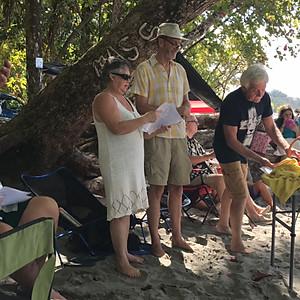 Sunday Beach Service