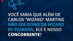 Wizard idiomas divulga nota preservando a marca