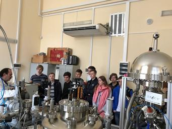 Школьники города Челябинск в СПбПУ