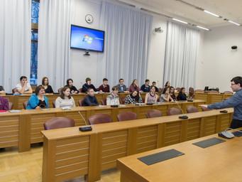 Встреча со школьниками                                                          г. Красноуральска